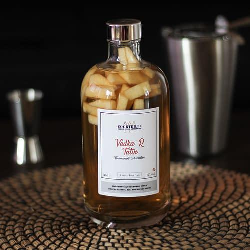 vodka'r tatin cocktail en bouteille