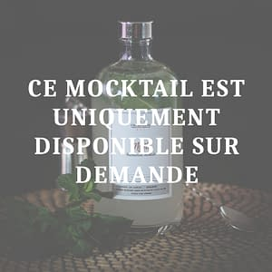 mocktail en bouteille virgin mojito