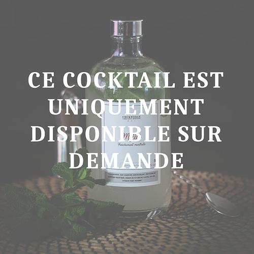 cocktail en bouteille mojito
